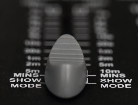 producing: Recording Mixer - close up