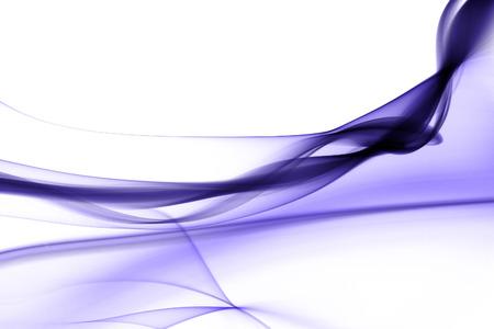 Purple smoke in white background photo