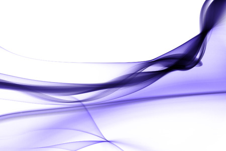 Purple smoke in white background