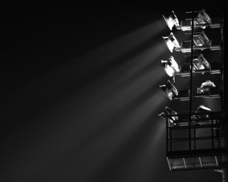 darck: The Stadium Spot-light tower (darck background)