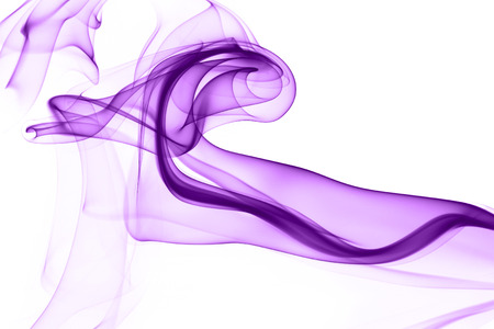 purple texture: Abstract photo of the mysterious smoke - white background