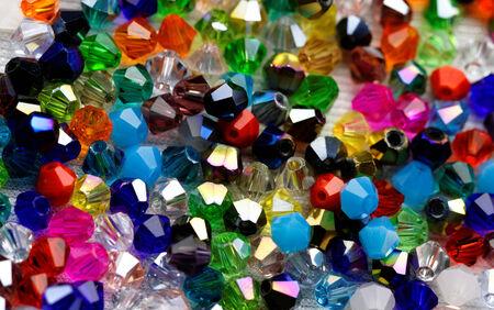 beads: Glass beads