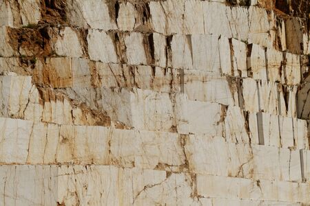 thassos: Photo of white marble quarry in Thassos, Greece