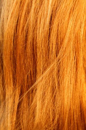 textura pelo: Pelo rubio. Rubio textura del cabello - foto del primer Foto de archivo