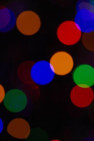Abstract light bokeh background - bokeh texture