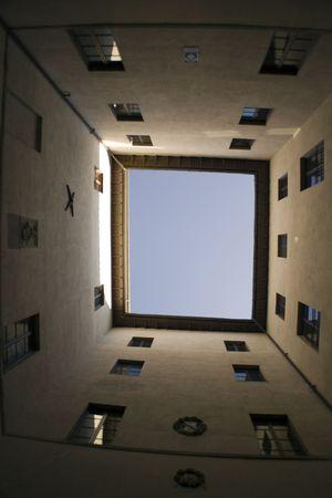 deep courtyard