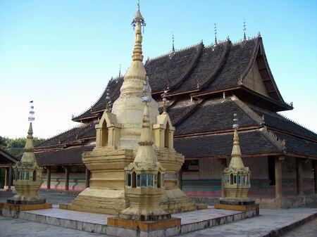 Laotian temple