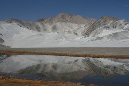 glacial desolation on the Pamir photo