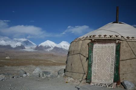 nomads house Stock Photo