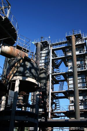 pumps, chimneys and silos