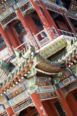 heave: detail of traditional Chinese architecture