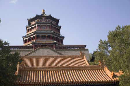 heave: the famous destination of the Summer Palace, Beijing