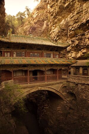 the famous Canyangshan, Hebei, China