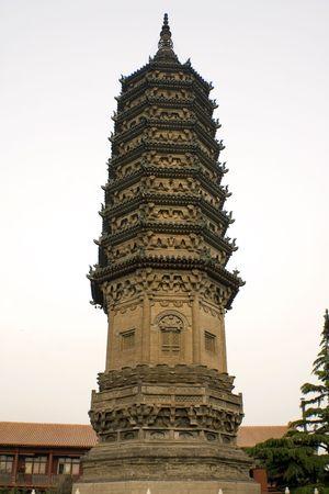 elegant pagoda from centuries ago, China