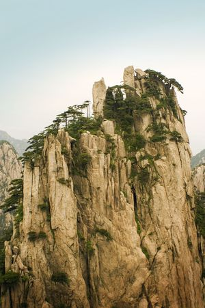 mountains from a painting, china Stock Photo