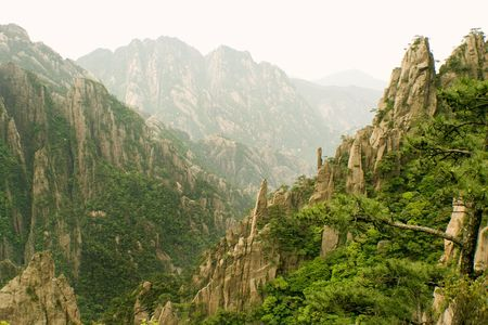 valley of the clouds in huangshan