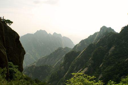 Huang Shan panorama photo