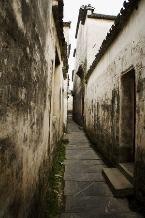 old streets in south china photo