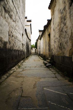 xidi village, traditional chinese huizhou architecture