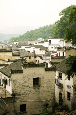 countryside view of south china photo
