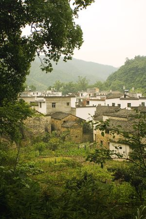 beautiful villages in south china photo