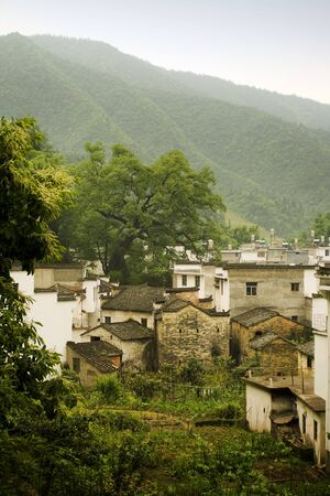 villages in the southern chinese countryside Stock Photo