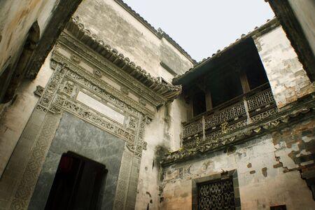 ancient huizhou traditional house photo