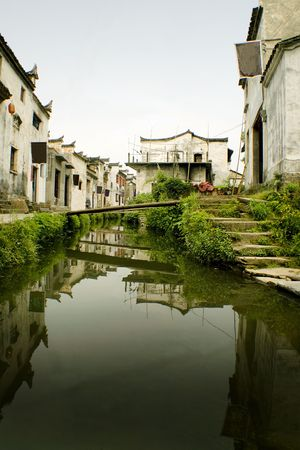 the river andthe village, scenes from south china photo