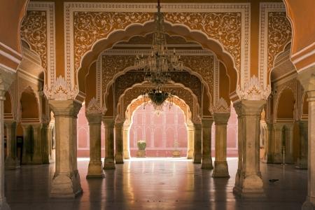 Königlichen Innenraum in Jaipur Palast, Indien Standard-Bild - 17913895