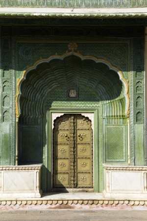 Jaipur palace, gate, India