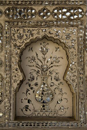 floreal: floreal decorations in Jaipur palace, India