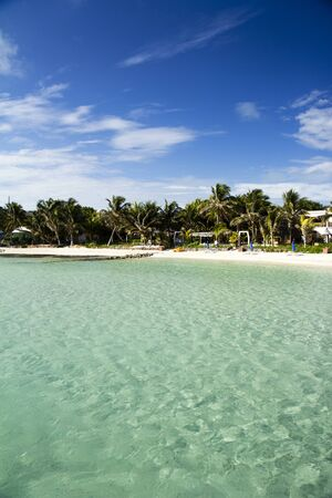 beach in Mexico Isla Mujeres, holiday perfection photo