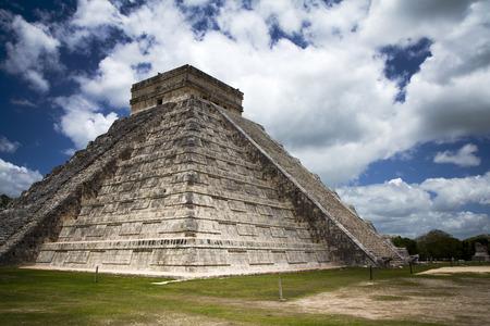 Mayan ruins in Chichen Itza Mexico