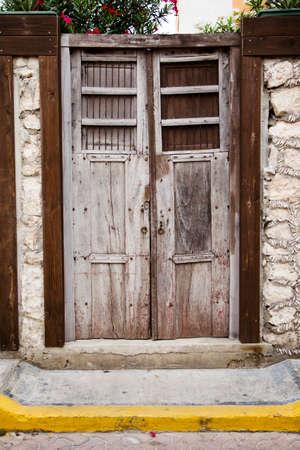 Door of building
