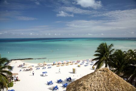 Mexican paradise tropical beach in Isla Mujeres photo