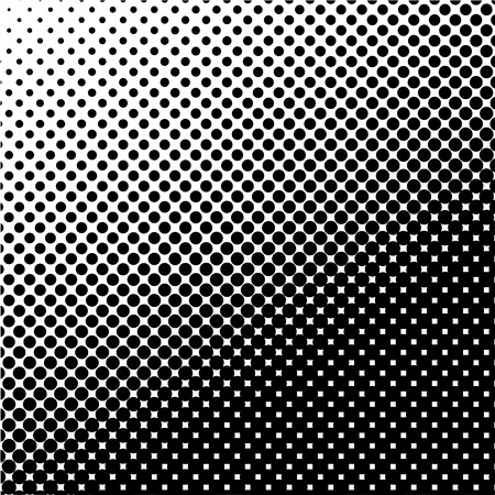 polka: halftone dotted and circle art background, abstract pattern, can be used for wallpaper, pattern fills, web page background,surface textures. Illustration