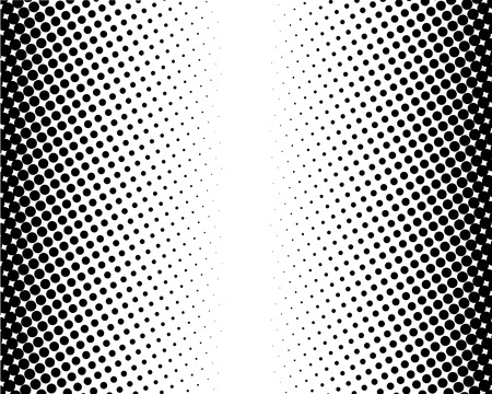halftone dotted and circle art background, abstract pattern, can be used for wallpaper, pattern fills, web page background,surface textures. Illustration