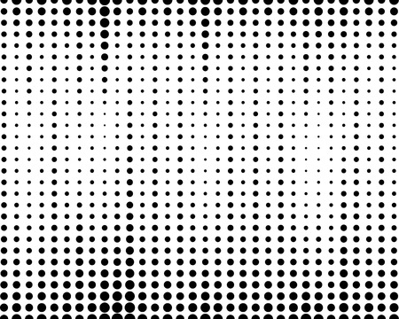 black fabric: halftone dotted and circle art background, abstract pattern, can be used for wallpaper, pattern fills, web page background,surface textures. Illustration