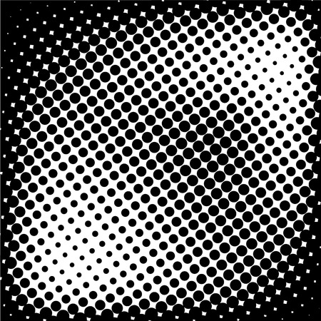 white polka dots: halftone dotted and circle art background, abstract pattern, can be used for wallpaper, pattern fills, web page background,surface textures. Illustration