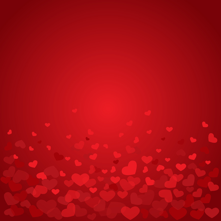 heart background, valentines day celebration, can be use for backdrop and greeting card Illustration