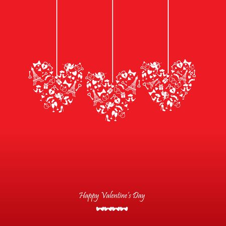 adjusted: romantic background, can be use for valentines day, wedding card, background, backdrop, the text can be adjusted