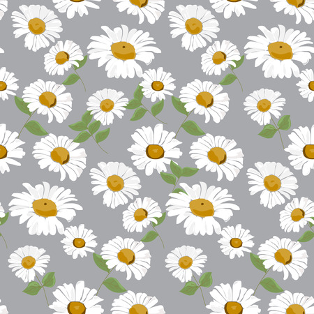 daisies: daisy seamless pattern,  Endless texture can be used for wallpaper, pattern fills, web page background,surface textures.
