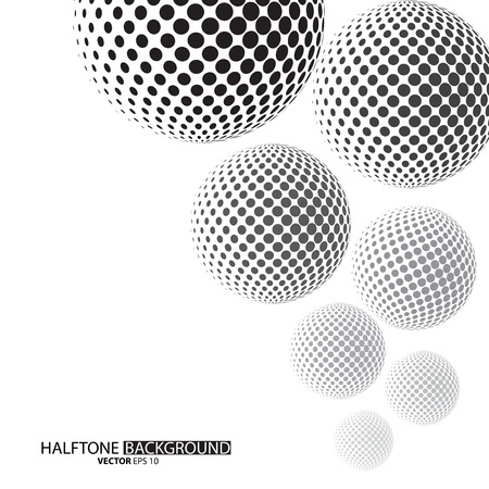 Black dots halftone background can be use for pattern, backdrop, wallpaper, surface. the text can be added