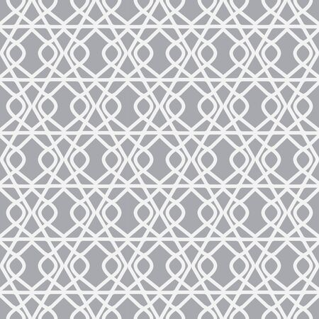 grey pattern: arabic seamless patterns,  Pattern Swatches, vector, Endless texture can be used for wallpaper, pattern fills, web page,background,surface Stock Photo