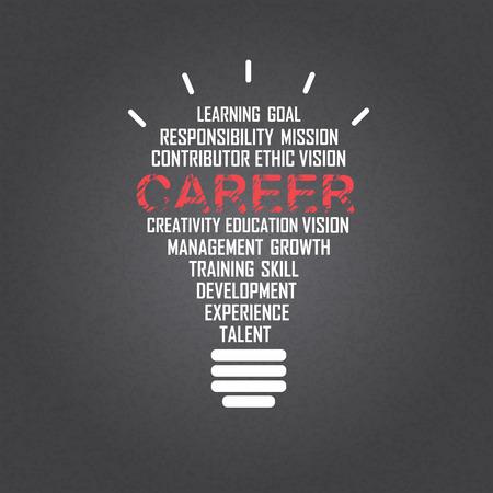 conocimiento: carrera de fondo, idea de negocio creativa. texto puede ser a�adido. ilustraci�n vectorial Vectores