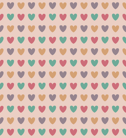 grunge wallpaper: Colourful heart pattern, grunge vintage seamless pattern. Endless texture can be used for wallpaper, pattern fills, web page, background, surface