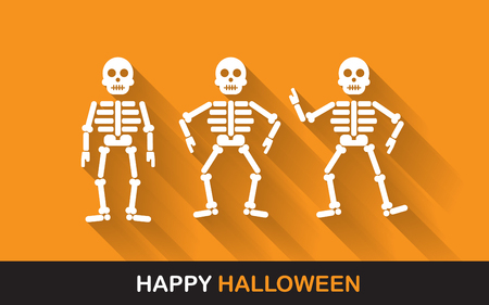 cartoon halloween: halloween Poster, banner or background for Halloween Party night