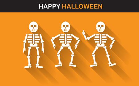 Halloween poster, banner o sfondo per Halloween Party night Archivio Fotografico - 44495439