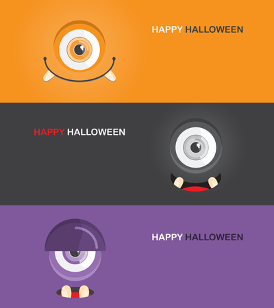 party night: halloween Poster, banner or background for Halloween Party night. can be use for one page website design, layout and banner. vector illustration