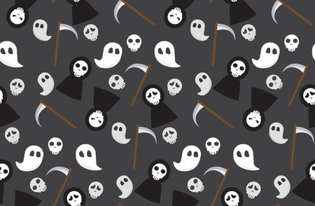 blood sugar: halloween seamless pattern. Endless texture can be used for wallpaper, pattern fills, web page,background,surface, textile. vector illustration